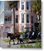 The Battery In Charleston Metal Print