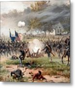 The Battle Of Antietam Metal Print