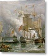 The Battle Of Cape St Vincent Metal Print
