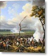 The Battle Of Hanau Metal Print