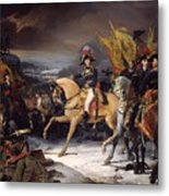 The Battle Of Hohenlinden Metal Print