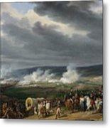 The Battle Of Jemappes Metal Print
