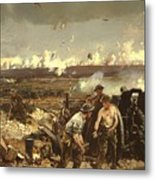 The Battle Of Vilmy Ridge Metal Print