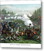 The Battle Of Winchester Metal Print