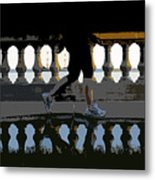 The Bayshore Runner Metal Print