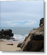 The Beach 2 Metal Print