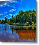 The Beach At Singing Waters Campground Metal Print