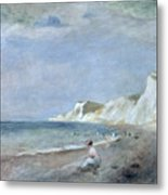 The Beach At Varangeville Metal Print