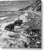 The Beach. Metal Print