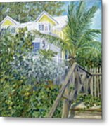The Beach House Metal Print