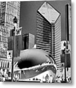 The Bean - 2 Metal Print
