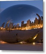 The Bean - Millenium Park - Chicago Metal Print