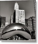 The Bean - 3 Metal Print