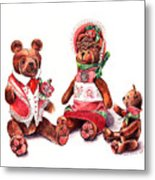 The Bear Family Metal Print