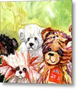 The Bears From The Yorkshire Moor 02 Metal Print