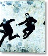 The Beatles Jump Metal Print
