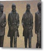 The Beatles N F Metal Print