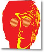 The Beatles No.09 Metal Print by Caio Caldas
