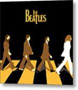 The Beatles No.19 Metal Print by Caio Caldas