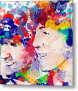 The Beatles Tb Metal Print