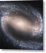 The Beautiful Barred Spiral Galaxy Ngc 1300 Metal Print