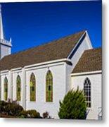 The Beautiful Bodega Church St. Teresas Of Avila  Metal Print