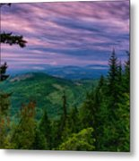 The Beautiful Olympic Mountains At Dawn - Olympic National Park, Washington Metal Print