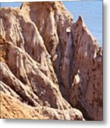 The Beauty In Erosion Metal Print
