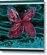 The Beauty Of A Butterfly's Spirit Metal Print