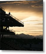 The Beauty Of Baseball In Colorado Metal Print