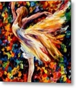 The Beauty Of Dance Metal Print