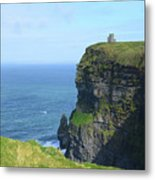The Beauty Of Ire'land's Cliff's Of Moher In County Clare Metal Print