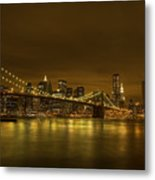 The Beauty Of Manhattan Metal Print