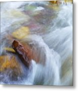 The Beauty Of Silky Water Metal Print