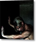 The Beauty Of Strength Metal Print by Steven  Digman