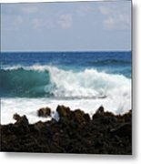 The Beauty Of The Sea Metal Print