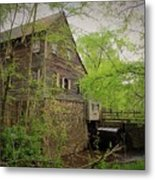 The Beauty Of The West Point On The Eno Grist Mill - Durham, N.c. Metal Print