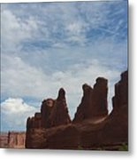 The Beauty Of Utah Arches Metal Print