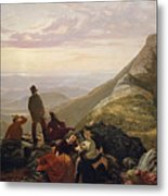The Belated Party On Mansfield Mountain Metal Print