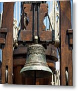 The Bell Of The Tall Ship Metal Print