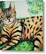 The Bengal Metal Print
