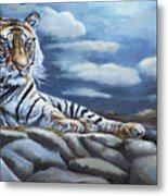 The Bengal Tiger Metal Print