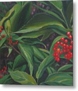 The Berries On Guanella Pass Metal Print
