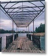 The Berth Metal Print