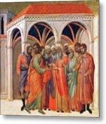 The Betrayal Of Judas 1311 Metal Print