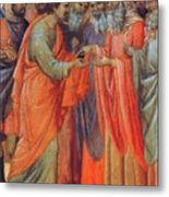 The Betrayal Of Judas Fragment 1311 Metal Print