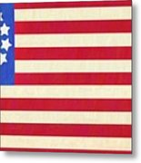 The Betsy Ross Flag Metal Print