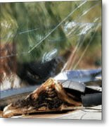 The Bible Still On The Dashboard 1 Metal Print