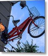 The Bicycle Thief - Halifax Metal Print