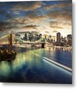 The Big Apple Metal Print by Zarija Pavikevik